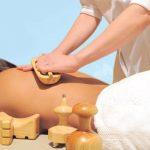 El masaje deportivo con maderoterapia para tonificar